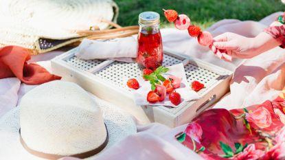 Lunch sur l'herbe: Sandra Bekkari's heerlijk verfrissende picknickmenu