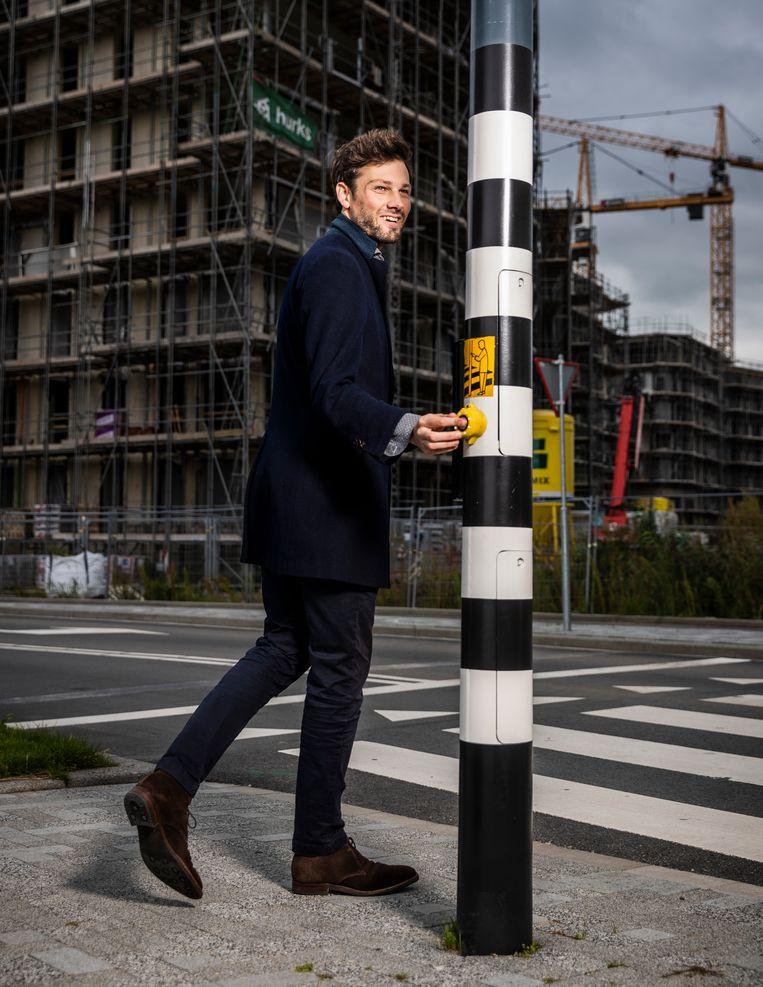 Cody Hochstenbach: 'Er moeten tot 2030, volgens minister Ollongren, 800 duizend woningen worden gebouwd om de woningnood op te lossen.' Beeld Jiri Büller