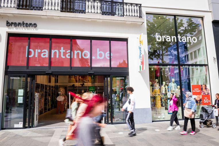 De winkel van Brantano in Antwerpen.