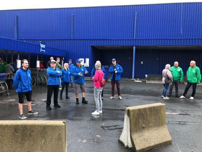 Vorige week bleef de winkel van Makro in Sint-Pieters-Leeuw ook al een dag gesloten door een staking.