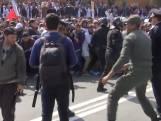Politie op de vuist met protesterende docenten in Marokko