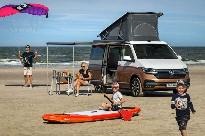 Kleine wijzigingen aan de vernieuwde VW California