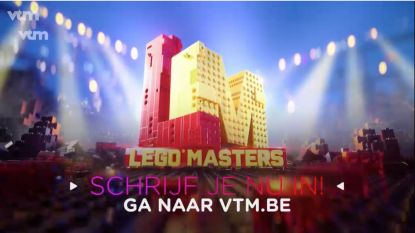 VTM zoekt straffe LEGO-bouwers voor gloednieuw programma