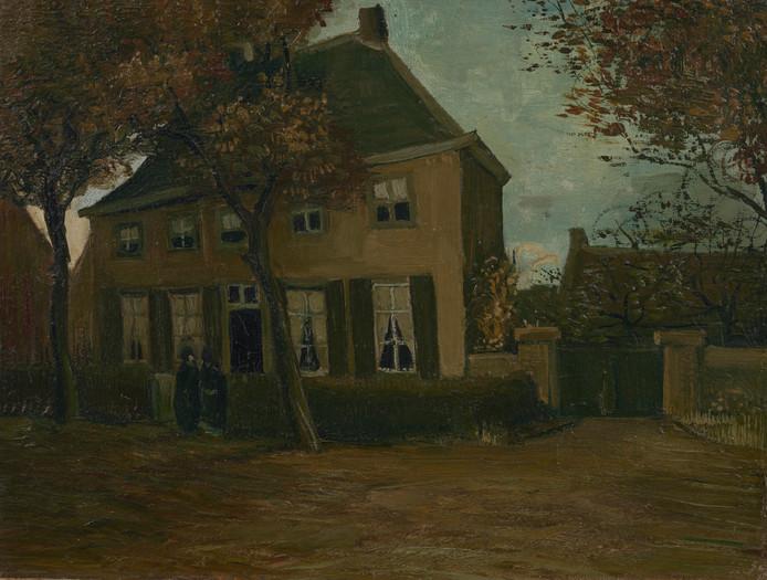 Vincent van Gogh, De pastorie te Nuenen, 1885.