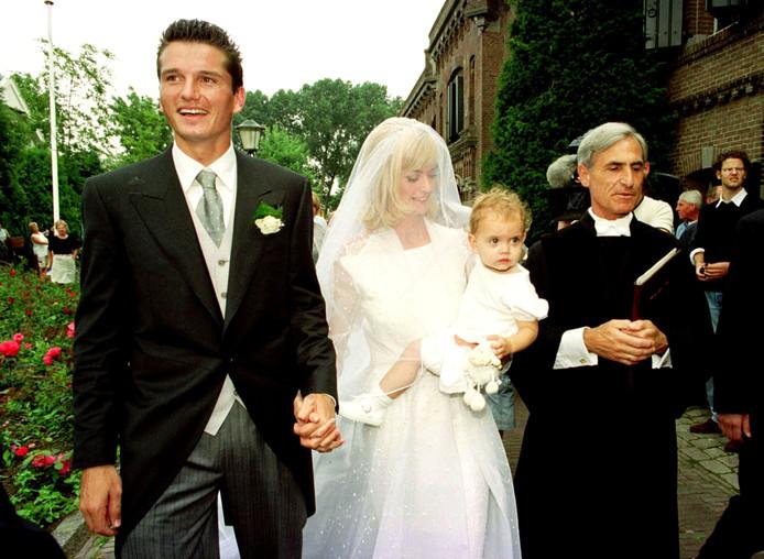 Richard en Daphne gaven elkaar bijna twintig jaar geleden het ja-woord.