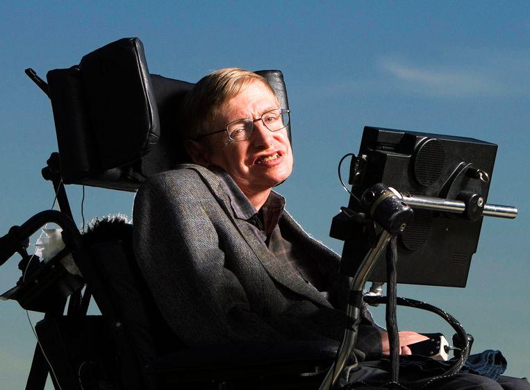 Stephen Hawking Beeld Photo News
