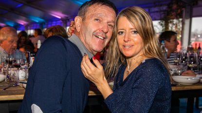 Roger De Vlaeminck stelt de nieuwe liefde in zijn leven voor op de Superprestigecross in Zonhoven