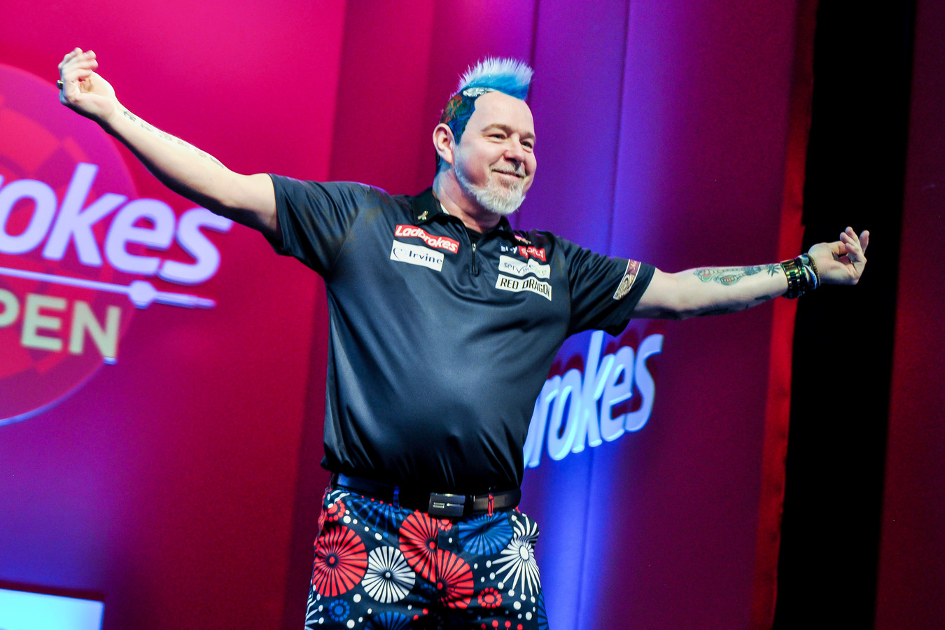Peter Wright.