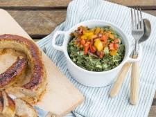 Wat Eten We Vandaag: Boerenkoolstamppot met paprika