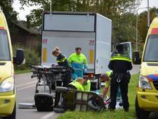 Vrouw zwaargewond na aanrijding met vrachtwagen bij Hummelo