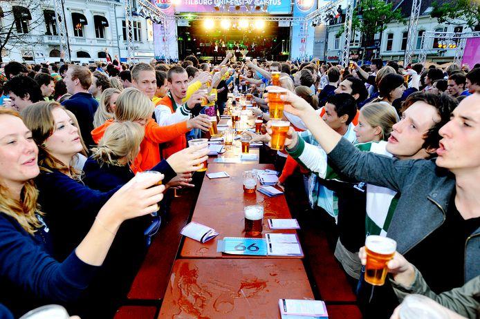 Studenten in Tilburg