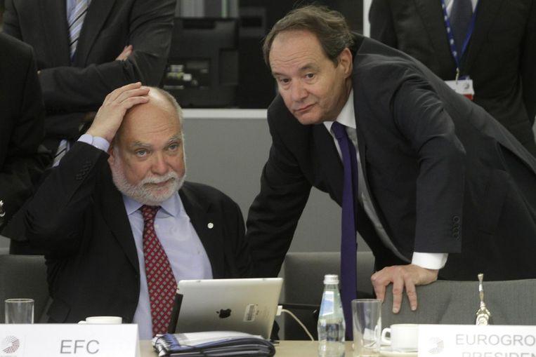Thomas Wieser (links) en Hans Vijlbrief Beeld null