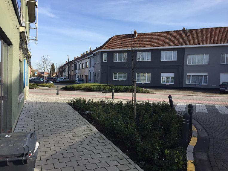 De Molenstraat in Wondelgem.