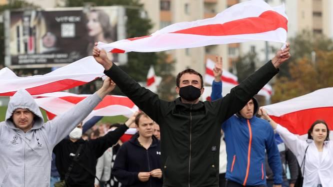 50ste protestdag in Wit-Rusland: wederom tientallen arrestaties, president Loekasjenko niet van plan te vertrekken
