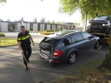 Vier auto's botsen in Aalten