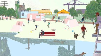 Eindelijk plan voor Zeebrugge: brasserie op strand en kustpark