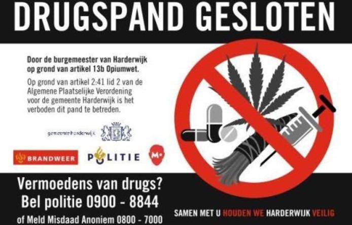 Opnieuw drugspand gesloten in Harderwijk | Veluwe | destentor nl