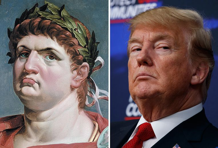 Nero & Trump Beeld