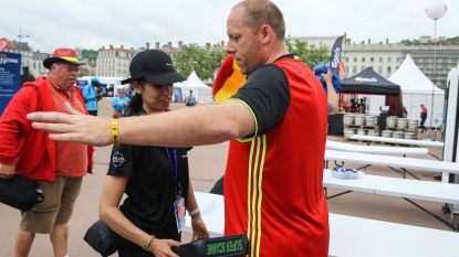 Privébewakers mogen fouilleren bij WK-matchen op groot scherm