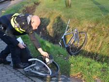Fietser gewond door aanrijding in Ermelo