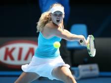 Wozniacki stopt na Australian Open met tennis