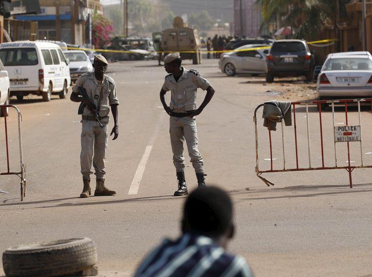 Archieffoto uit 2016: bij een aanslag op een hotel in hoofdstad Ouagadougou vielen meer dan dertig doden. In het Afrikaanse land zijn allerlei jihadistische groeperingen actief.