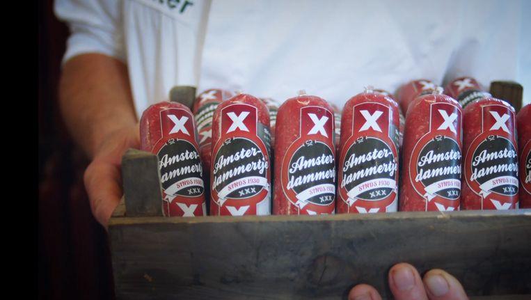 De gekeurde Amsterdamse worstjes Beeld Amsterdam Made