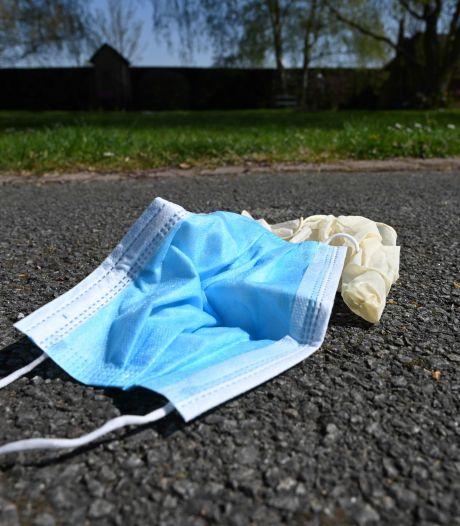 De plus en plus de déchets sauvages liés à la crise sanitaire en Belgique