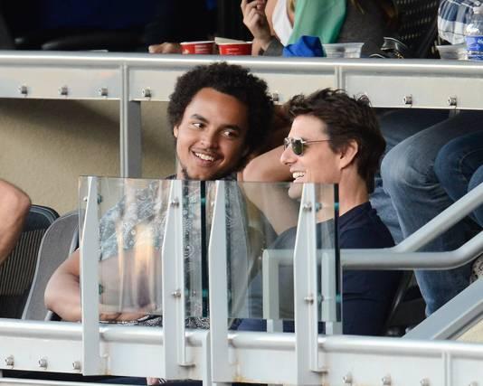 Tom Cruise et son fils, Connor