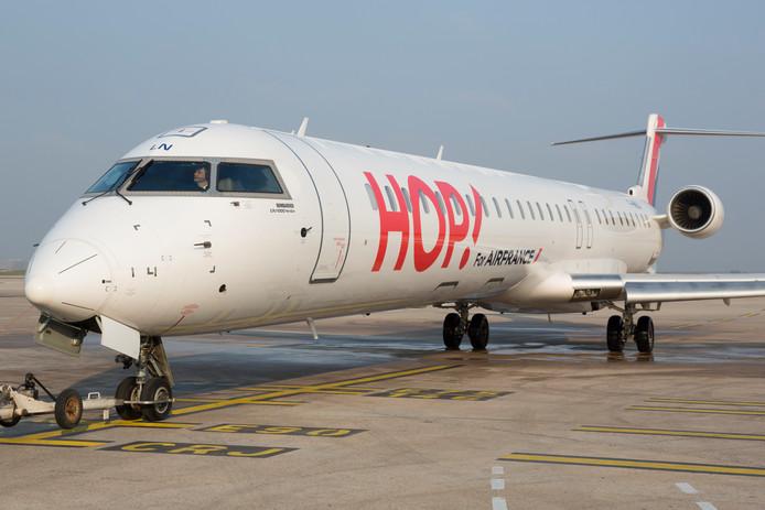 Een vliegtuig van Hop!