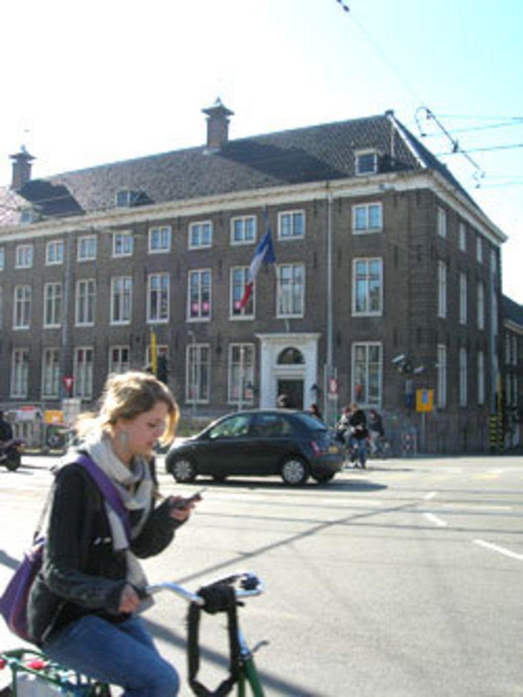 Maison Descartes hoek Vijzelgracht en Prinsengracht. Foto ARCAM Beeld