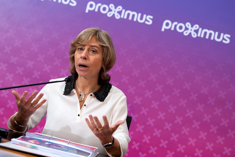 Dominique Leroy, CEO van Proximus.