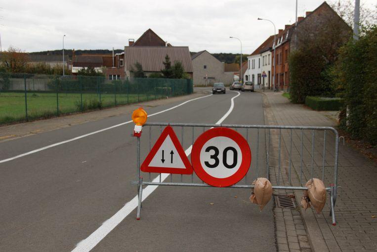 Archiefbeeld - De heraanleg van de Kapellestraat in Ruien is één van de investeringspunten in het meerjarenplan.