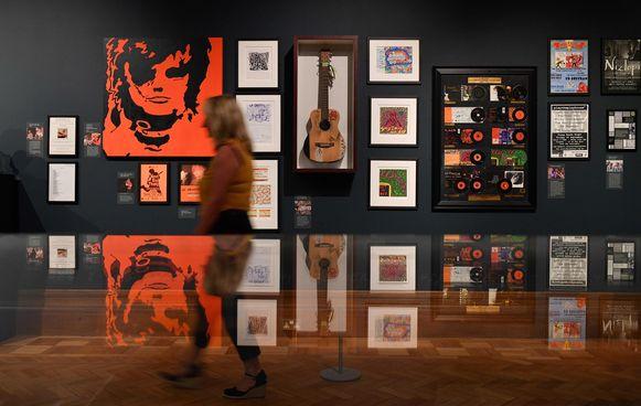 Een beeld vanop de tentoonstelling