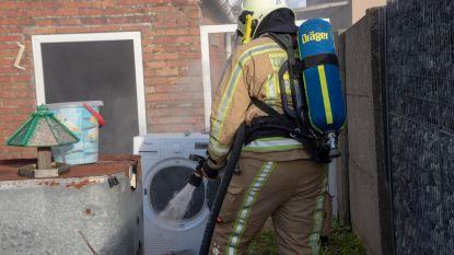 Droogkast vat vuur, maar schade blijft beperkt