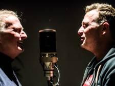 Jannes en John de Bever bij presentatie nieuwe single Joey Hartkamp