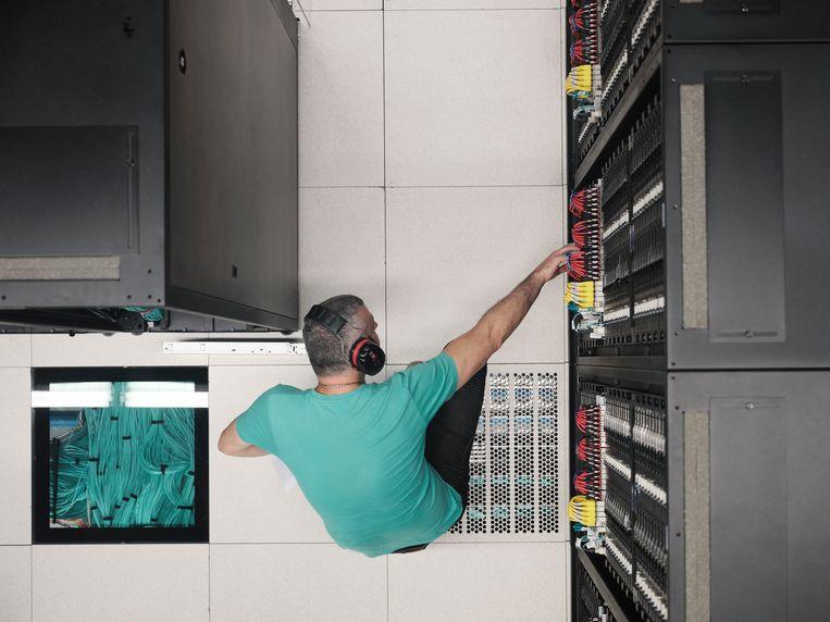 De supercomputer Barcelona moet tot de topvijf wereldwijd gaan horen. Beeld Dani Pujalte