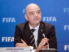 Infantino: Ook WK 2022 wordt historisch