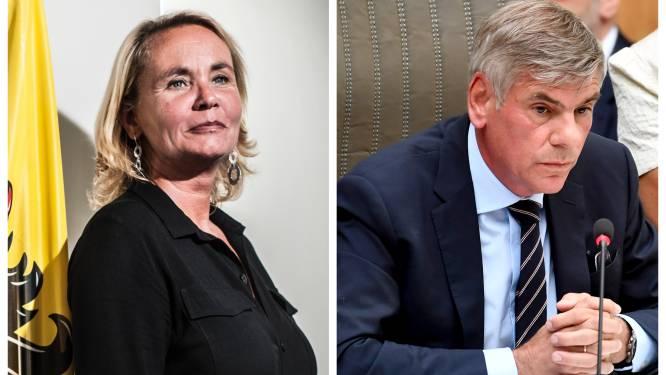 Homans (N-VA) kan opening Vlaams Parlement niet leiden door coronatest: Dewinter (VB) neemt over