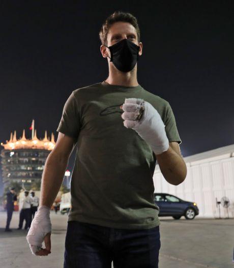 Grosjean dacht in de vlammen aan zijn drie kinderen: 'Wist dat ik nog niet kon sterven'