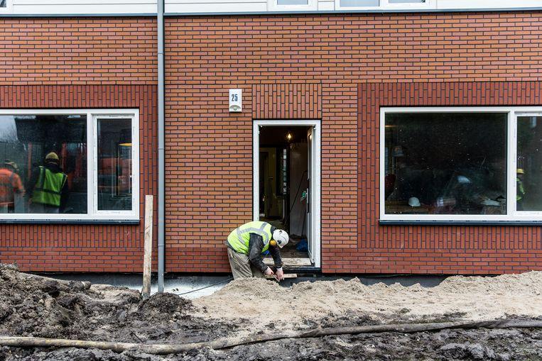 Ontwikkelaars hebben steeds meer moeite om projecten van de grond te krijgen door stijgende bouwkosten. Beeld ANP
