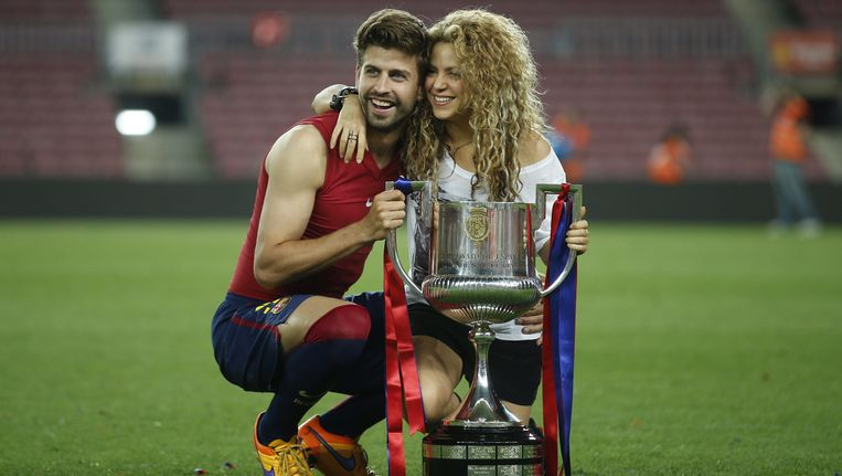 Gerard Piqué met Shakira in 2015.