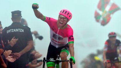 Woods houdt Teuns van ritwinst in Vuelta, De Gendt verovert bolletjestrui