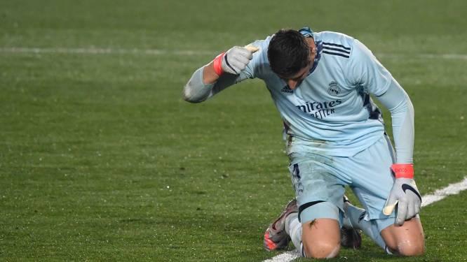 Ook Thibaut Courtois kent horroravond tegen Alaves: doelman pijnlijk in de fout bij 0-2 van Joselu