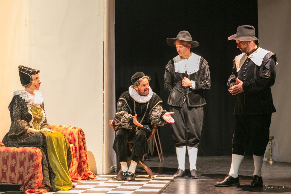 Uitvoering stuk over Willem van Oranje.