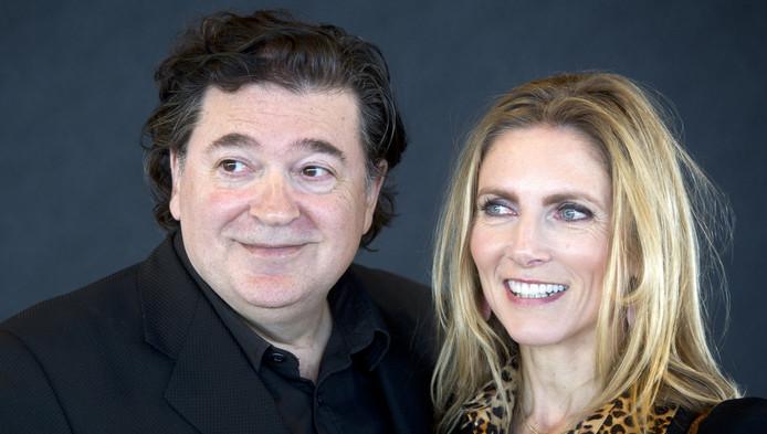Jessica Durlacher en haar echtgenoot Leon de Winter
