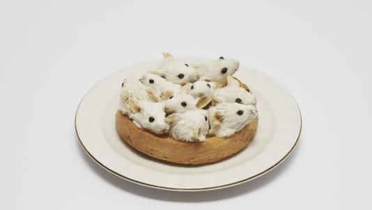 Het werk Beschuit met muisjes heeft Zijlstra onlangs verkocht.