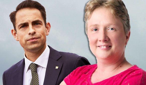 Tom Van Grieken floot Dominiek Sneppe terug over haar holebi-uitspraken