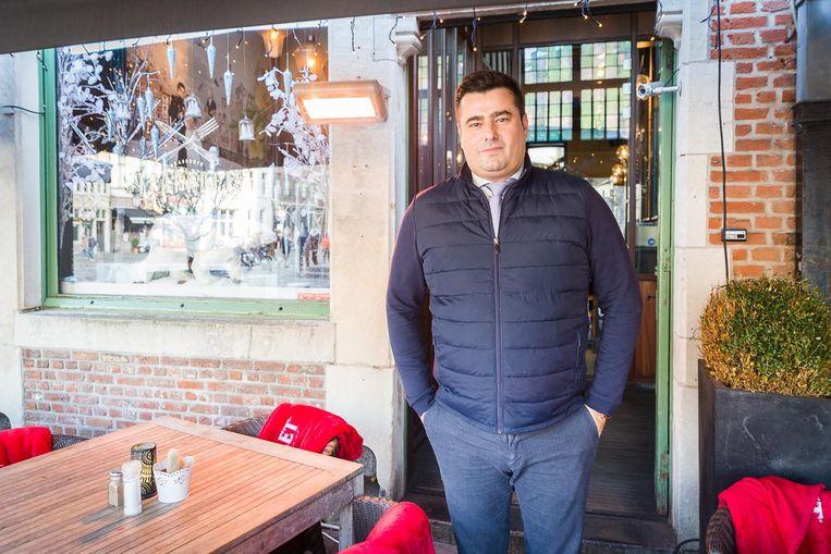 """Christophe van 't Paradijs van Wenemaar: """"Onze klanten keken uit op het afval van de foodtrucks""""."""