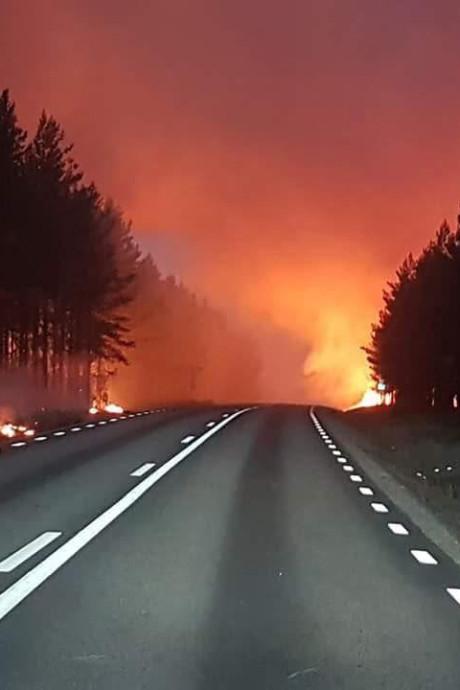 Bosbranden baren Deventer stel in Lapland zorgen: 'Iedereen is alert'